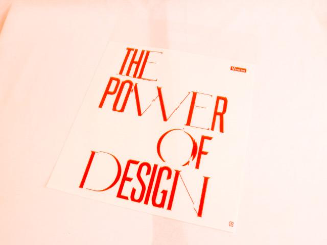 デザイン専門学校の卒業修了展のビニール袋