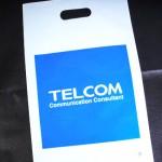 移動体通信の事業を展開されている企業様のオリジナルポリ袋