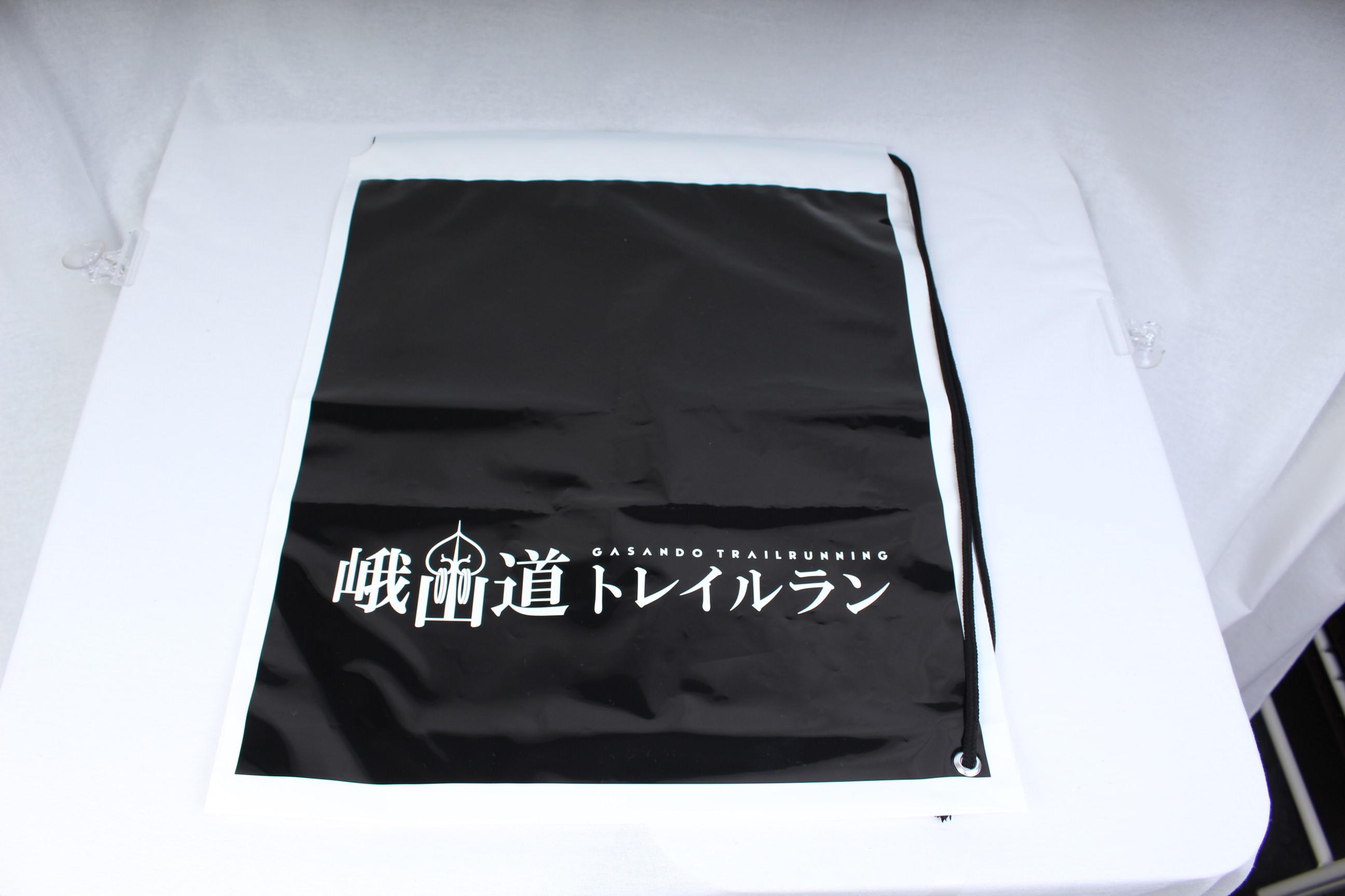 マラソン大会で配布するオリジナルポリ袋