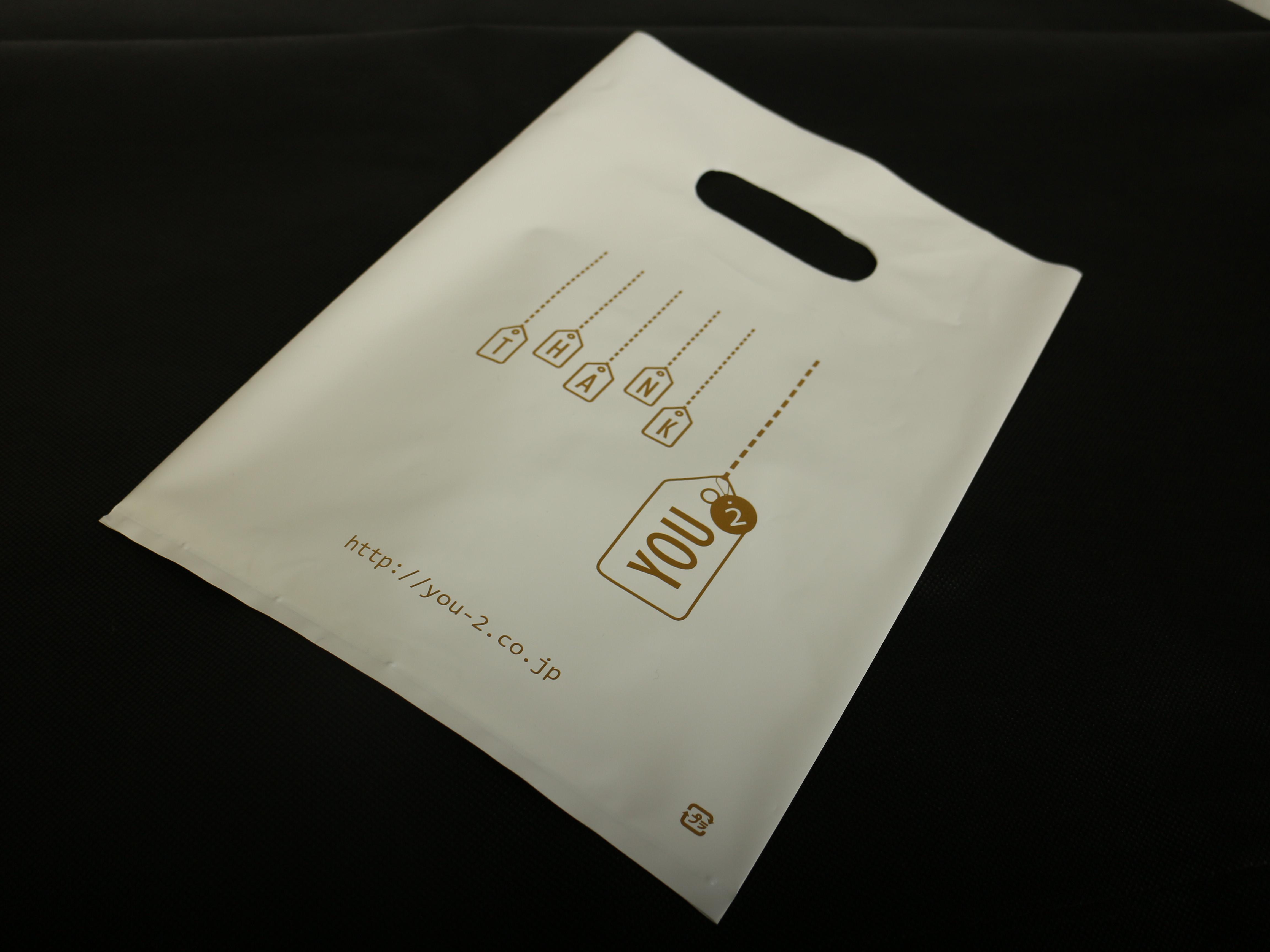 ネイルスクールをされておられる企業様オリジナルポリ袋