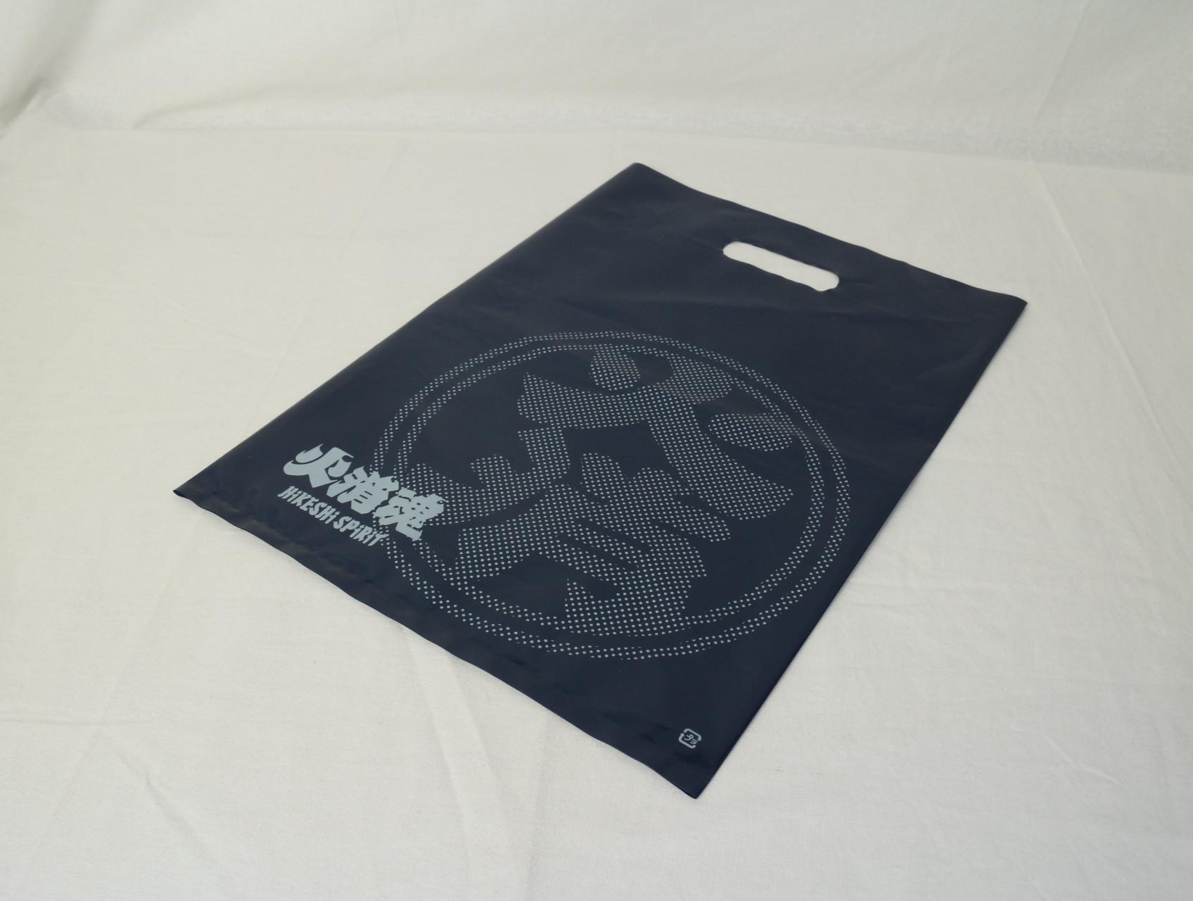 アパレル用ショッパーに使用されるオリジナルポリ袋