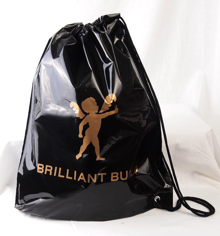 ショルダータイプのオリジナルビニール袋