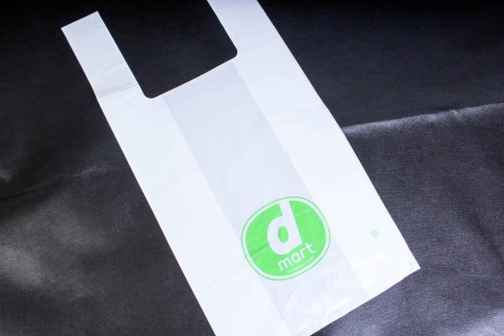 期間限定のコンビニで使われるレジ袋