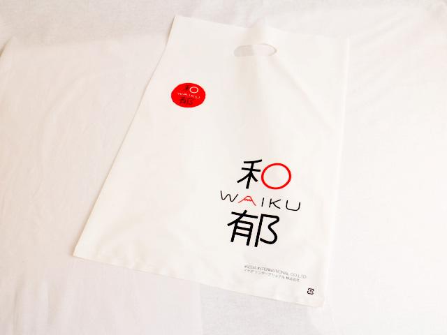 日本のお土産を提供する会社様のオリジナルポリ袋