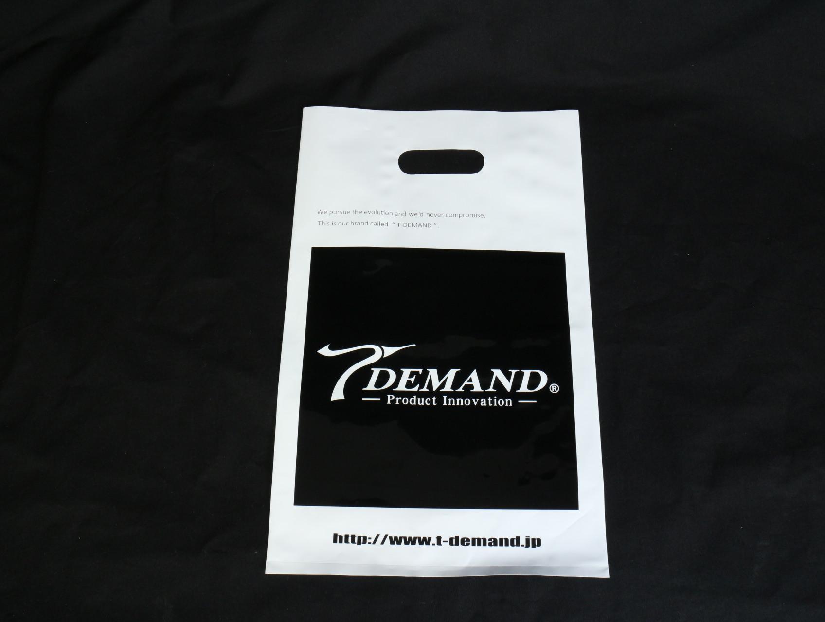 車のオリジナルパーツの開発・販売をされている店舗様のポリ袋