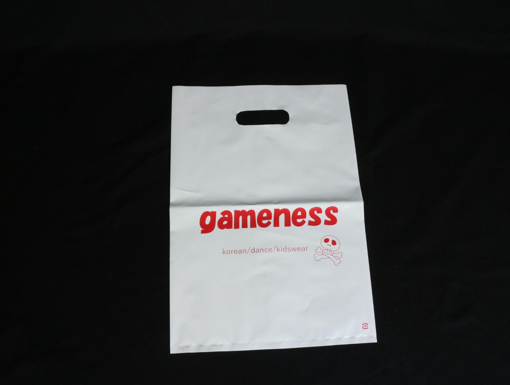 韓国の子供服を販売されている店舗様のポリ袋