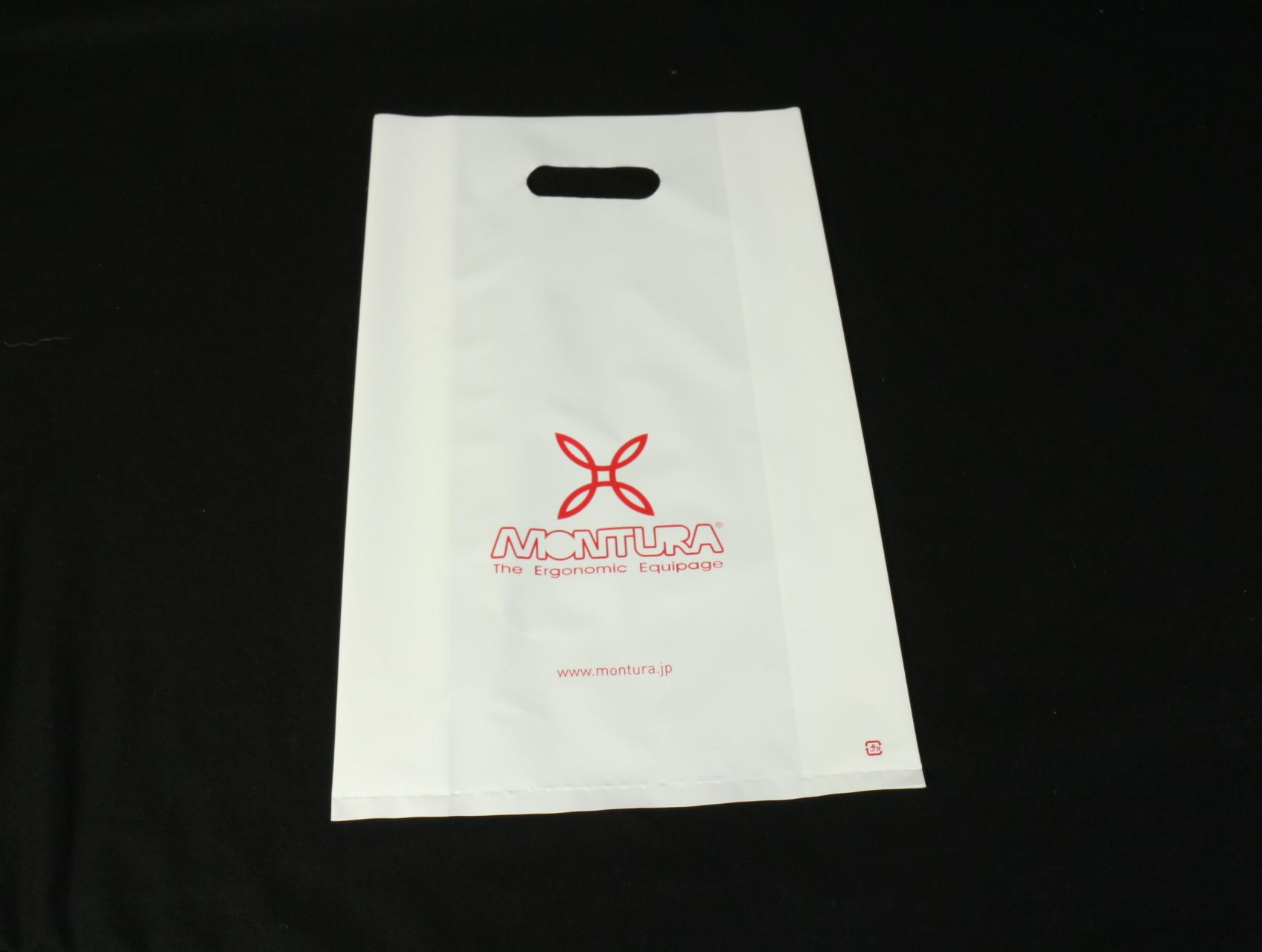 アウトドア用のスポーツウェアを取り扱われているブランド様のポリ袋
