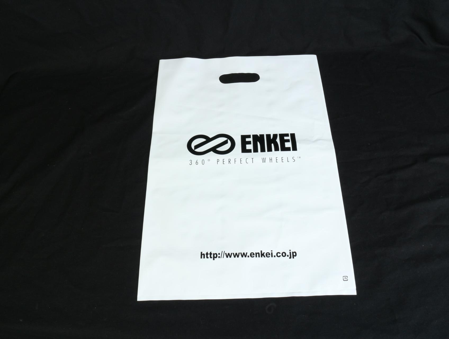 世界的に有名なアルミホイールメーカー様がご利用になられるイベント用ポリ袋
