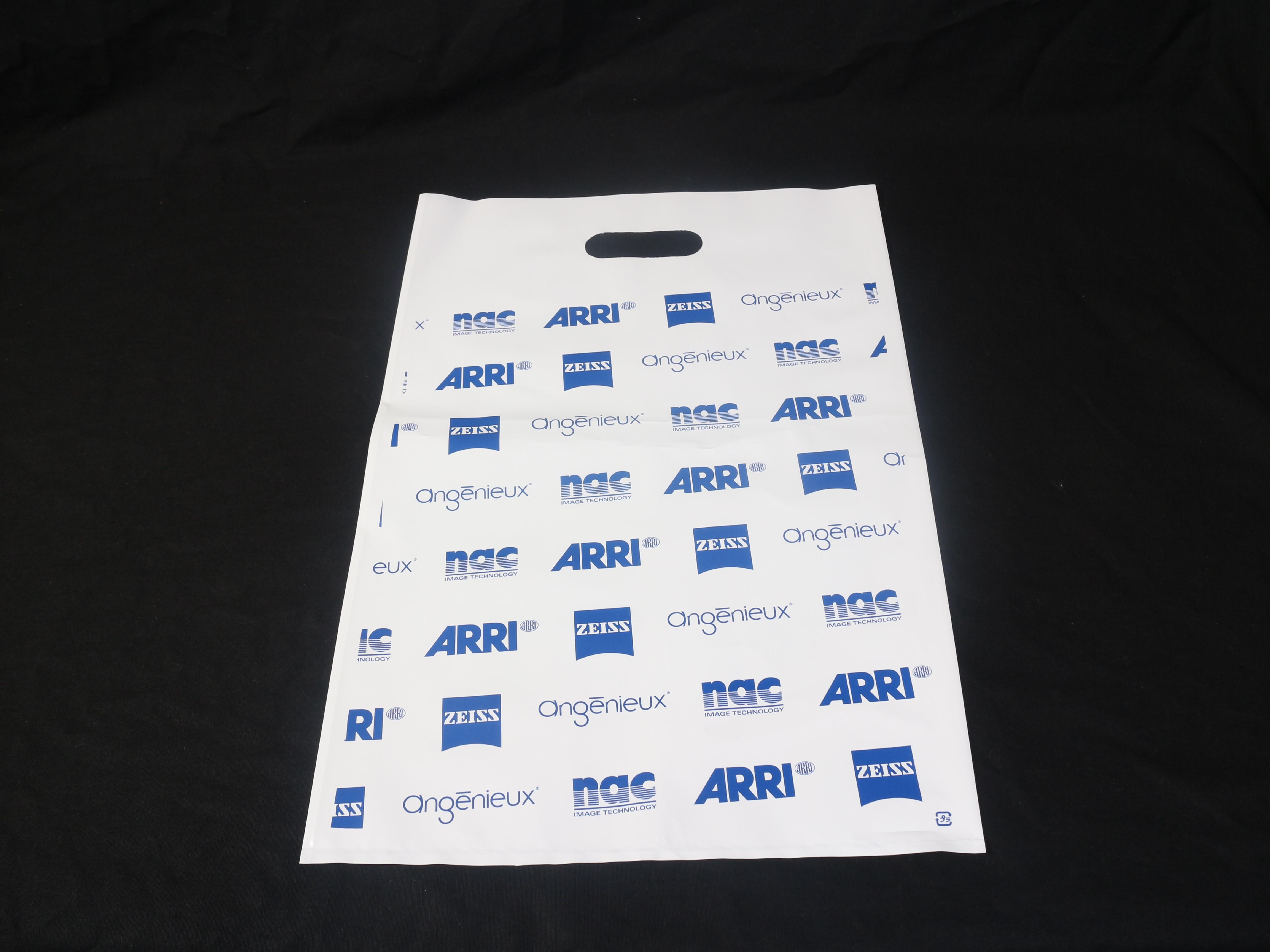 ハイスピードカメラや各種映像機器の販売・レンタルを行われている会社様の手穴タイプのポリ袋