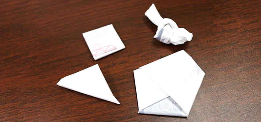 【初級編】レジ袋の簡単なたたみ方