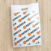 ロゴ入りの袋
