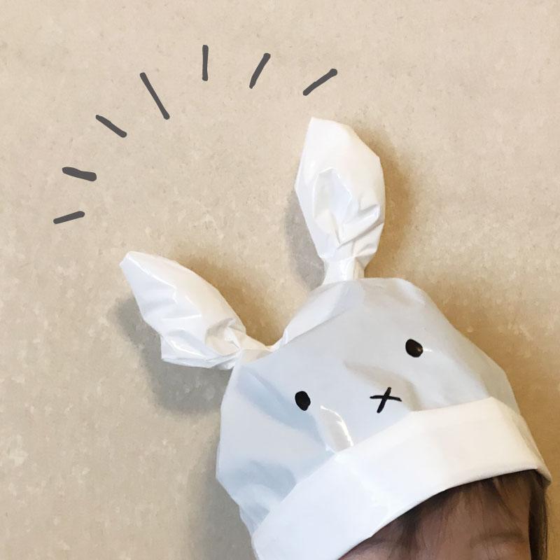 ハロウィンや誕生日パーティーの衣装にも使える!ポリ袋を使った帽子の作り方